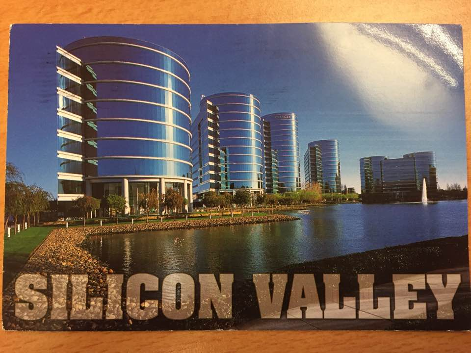 Postcard from Silicon Valley, USA